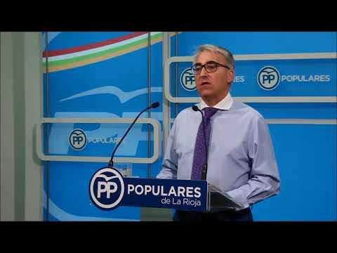 Garrido analiza el comienzo del curso político en La Rioja