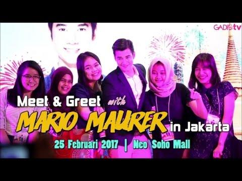 Meet & Greet with Mario Maurer in Jakarta
