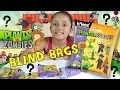 Plants vs. Zombies K'nex Mystery Packs Series 1 Opening (4 Blind Bags)