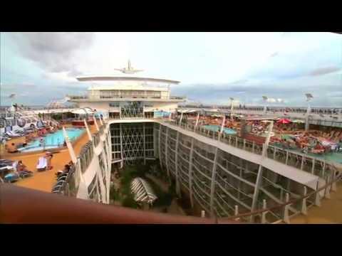 Развлечения спорт и активный отдых на борту лайнеров класса Оасис