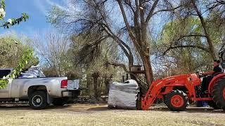 7. Kubota Tractor MX5200 HST 4X4 lifts 2,240 pounds!!!!