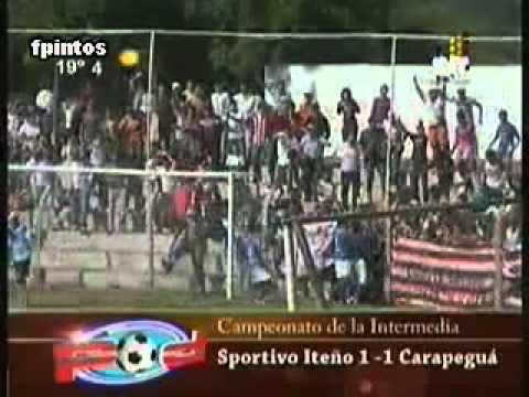 Stvo. Iteño 1 - 1 Carapegua - Intermedia 2011  - Fecha 7 - La Furia - Sportivo Iteño