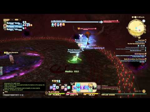 Final Fantasy XIV: ARR – Avere Bravearm kill without Tank (White Mage POV)