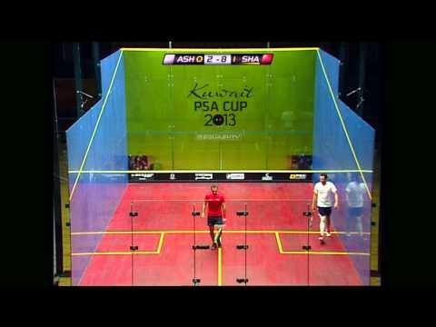 Squash : Kuwait PSA Cup 2013 QF Roundup: Gaultier-Barker & Ashour-Shabana