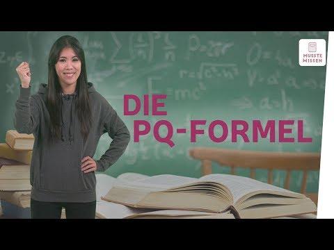 Was ist die pq-Formel?