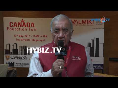 Madan Mohan Lal-Canada Education Fair 2017