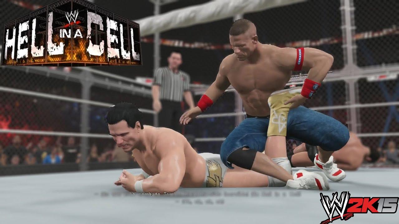 Ver WWE 2K15 Gameplay en PS4  Showcase- Hell In a Cell – Triple amenaza en la celda infernal – en Español Online