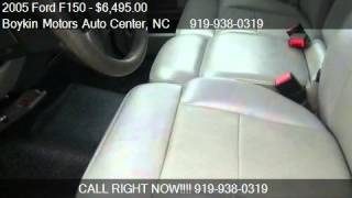 2005 Ford F150  for sale in Smithfield, NC 27577 at Boykin M