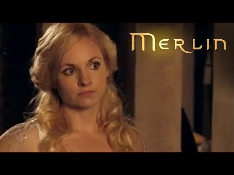 Merlin - Series 2 - Episode 10 - Arthur Tries to Woo Lady Vivian (2009) - (Ft. Georgia Moffett)