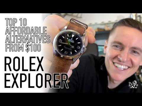 My Top 10 Best Rolex Explorer Non Homage Affordable Alternatives - From $100 & Under $4000 (видео)