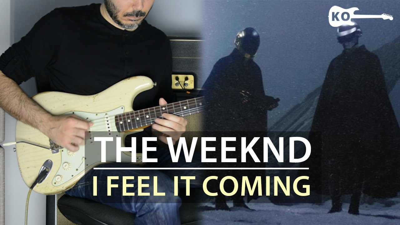 The Weeknd – I Feel It Coming ft. Daft Punk – Electric Guitar Cover by Kfir Ochaion