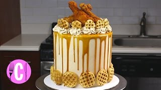 This Chicken and Waffles Cake is Like Nothing You've Ever Seen   Cosmopolitan by Cosmopolitan