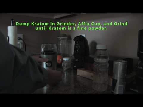 How to Quickly Prepare Dried Kratom Leaves for Easy Oral Ingestion