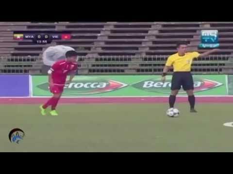 U16 Việt Nam đè bẹp U16 Myanmar tỷ số 5-1