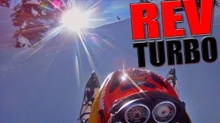 5. Ski-doo Rev 800 HO Aerocharger Turbo