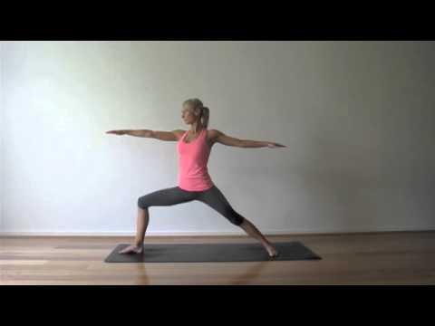 Yoga basics: warrior postures, week 4