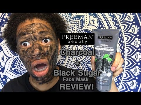 Freeman Charcoal + Black Sugar Gel Mask & Scrub Review   Does It Improve Oily Skin & Large Pores?