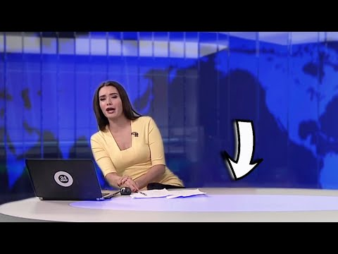 Happy Dog Interrupts Russian News Broadcast