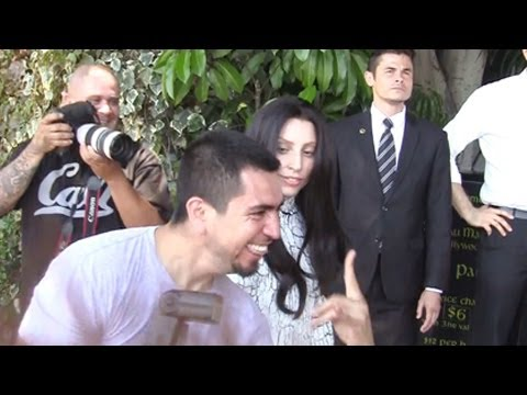 Lady Gaga Plays Childish Games With The Paparazzi