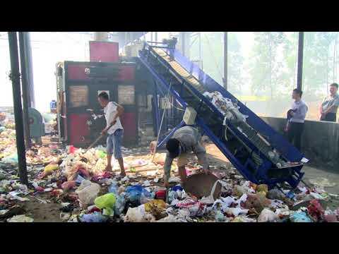 Lò đốt rác thải sinh hoạt thị trấn Tân Dân – Yên Dũng – Bắc Giang