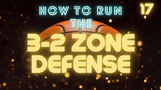 NOTE: This is the second time uploading this video. I'm not sure why it was removed from my channel.In this video I cover the basic coverage principles to running a 3-2 zone defense. Coaches and players will be able to run a basic coverage as well as an aggressive or trapping 3-2 zone. Thank you for watching my video and visiting my channel. Please check out other videos for play ideas for your team.