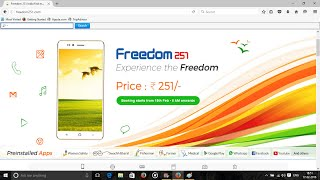 How to Book this Smart Phone?Visit - http://freedom251.com/  (Registration starts 6AM 18th February 2016)Book mobile by paying Rs. 251 (Shipping might extra)Mobile will be sent by 30th June 2016Please subscribe to our channel -- http://www.youtube.com/channel/UCbcF4EZw8hrhRlMuW9vfSIglike us on facebook-  https://www.facebook.com/ShopTechReviewfollow us on google plus --   https://plus.google.com/u/1/+ShopTechReviewfollow us on twitter ---   https://twitter.com/ShopTechReview