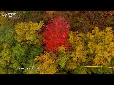 L'autunno nei parchi del Lazio