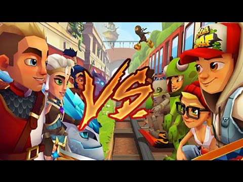 Blades of Brim VS. Subway Surfers (видео)