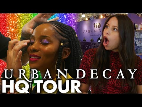 Touring Urban Decay & Testing Pride-Inspired Makeup! (Beauty Trippin)