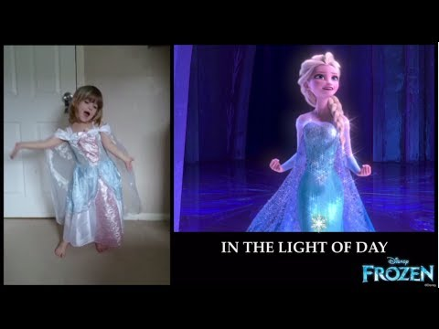 Video ☆ DISNEY JUNIOR FANS SING FROZEN'S LET IT GO! ☆ download in MP3, 3GP, MP4, WEBM, AVI, FLV January 2017