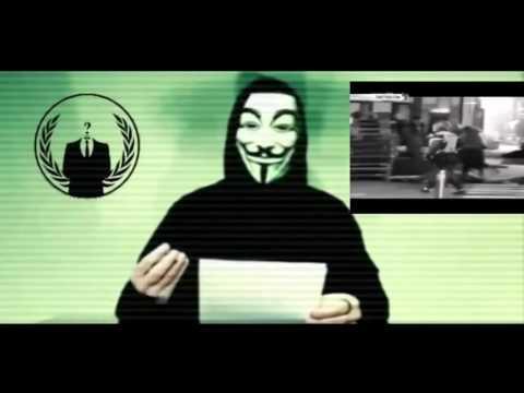 """VIDEO.- Anonymous declara """"la guerra total"""" contra el Estado Islámico tras los ataques en París."""