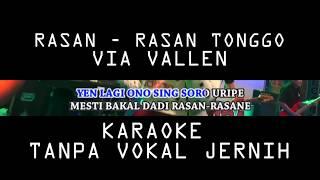 Via Vallen - Rasan Rasan Tonggo Karaoke