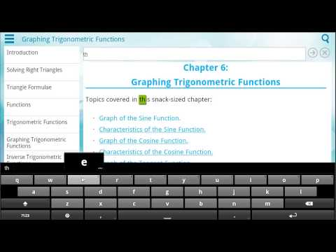 Video of Trigonometry by WAGmob