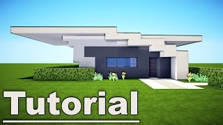 Minecraft: Small Easy Modern House Tutorial #7 for pc xbox mc pe ps3 / How to Build