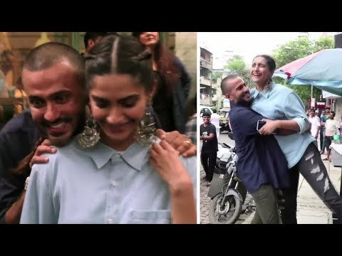 Sonam Kapoor's Cute Moment With Husband Anand Ah