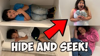 Video HIDE and SEEK WINNER GETS $1000!!! MP3, 3GP, MP4, WEBM, AVI, FLV Juni 2019