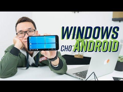 Windows 10 trên smartphone Android? Cú lừa - Thời lượng: 4:10.