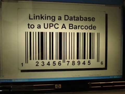 Linking Bar Code to a Database