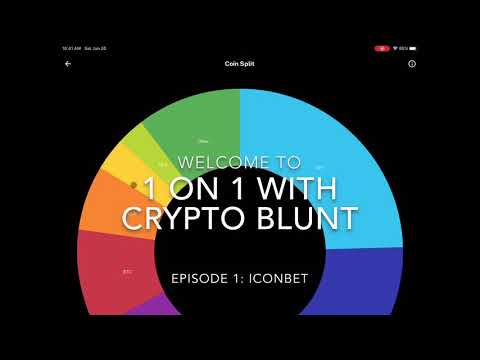 1 On 1 With Crypto Blunt - Episode #1: IconBet - ICX / TAP