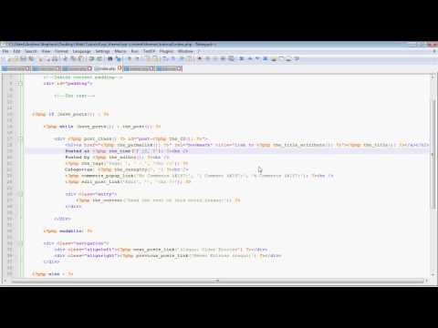 WordPress Theme Tutorial: Part 2 – Homepage and Functions