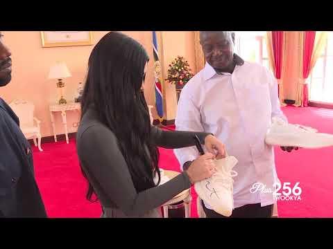 Kanye West & Kim Kardashian Visit Uganda
