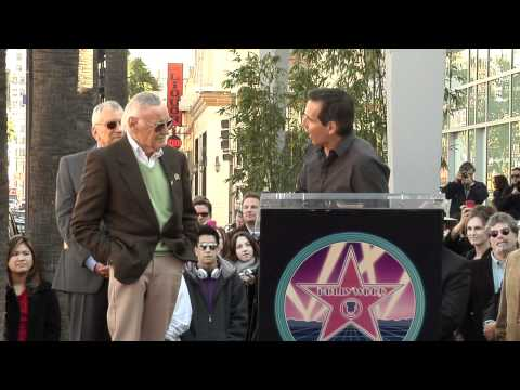Stan Lee Walk of Fame Ceremony