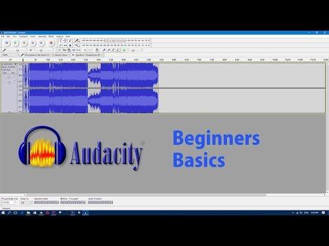 Audacity Tutorial Basics Beginners Free To Use