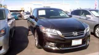 2013 Honda Accord Sport Manual Transmission Black Test Drive