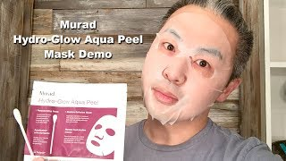 In this episode of Mr. Jan All In One, Steve reviews and demos the Murad Hydro-Glow Aqua Peel Face Mask. There is a split screen near the end ... can you tell the difference?