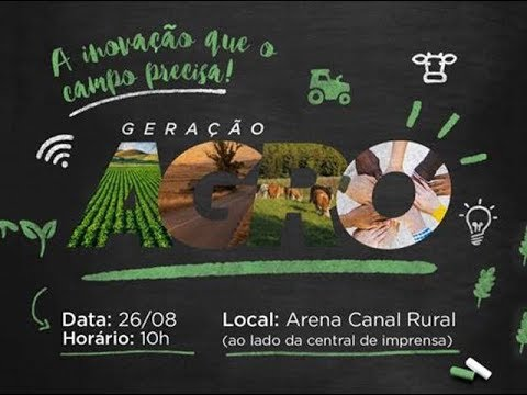 """EXPOINTER 2017: Jovens debatem """"A Inovação que o Campo Precisa"""""""