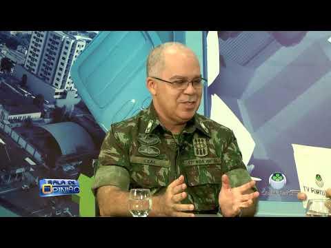 SALA DE OPINIÃO COM DR. APARÍCIO CARVALHO – ENTREVISTADO GENERAL LEAL