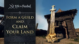"""Warm greetings fellow knights and feudalists! We're back with another helpful intro guide, and today we'll be discussing how players can transform their medieval fantasy of ruling a kingdom of their own into reality within Life is Feudal: MMO.http://lifeisfeudal.com/Everything's better with friends, especially when you can team up, form guilds and stake your claim on a huge hunk of the Medieval landscape - which is exactly what you can do in Life is Feudal: MMO.In today's new trailer, developer Bitbox walks you through setting up a guild (find 10 friends first!), and staking a land claim. But be wary, each type of land offers a special boon, and bane - the winter-lands, for example, offer plenty of logging opportunities, but little hunting - while the sunny grasslands offer warmth, and abundant game, but due to dry heat, make for difficult farming. Once you've picked a perfect spot, it's time to build a Monument to stake your guild's claim. With your Monument is in place, that land is yours, meaning no enemies may sneak in and steal from you, nor may they trespass without your knowledge. Lastly, if you sacrifice valuable resources at the Monument, you'll """"power it up"""", which offers you increased strength and influence in the game world."""
