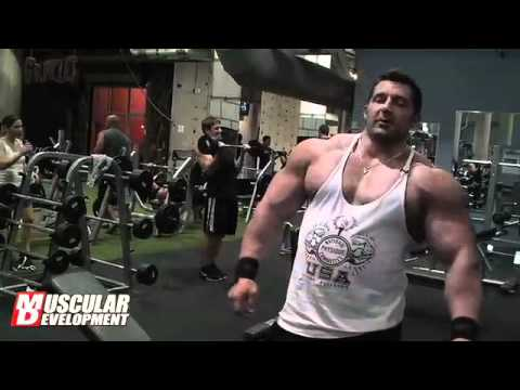 bodybuilding arm routine - Brian Yersky 2011 Bodybuilding Offseason Arm Training.