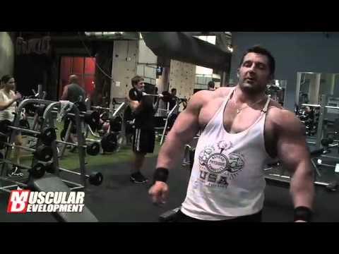 Brian Yersky 2011 Bodybuilding Offseason Arm Training